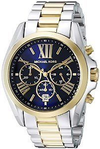 Michael Kors Men's MK5976 Bradshaw Two Tone Analog Quartz Stainless Steel Watch