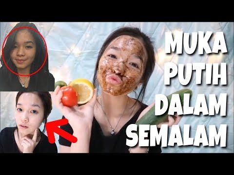 Cara Memutihkan Wajah Dengan Sangat Cepat Youtube Wajah Masker Wajah Buatan Rumah Pemutih