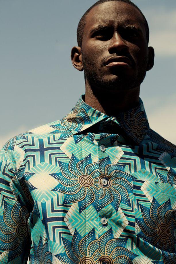 #Tribal print with a modern high fashion twist.