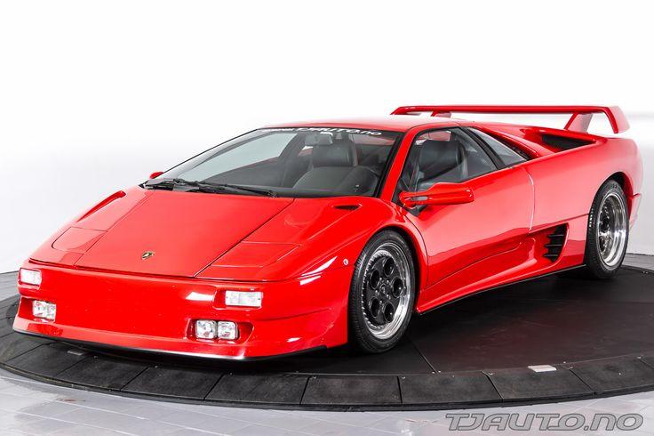 Lamborghini Modell Diablo Årsmodell 1991