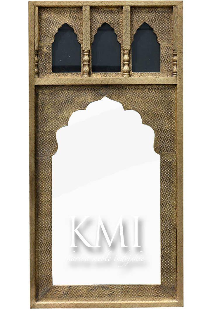 """indyjskie złote lustro """"Taj Mahal"""""""