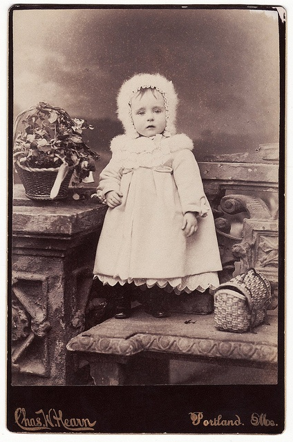 Winter Girl Vintage Photograph by Carol Anne's Boutique, via Flickr