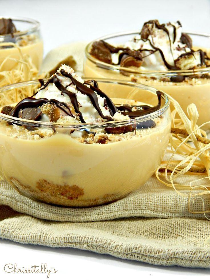 Chrissitally´s Cupcakefactory: Twix-Karamell Pudding & What´s For Pudding [Rezension]