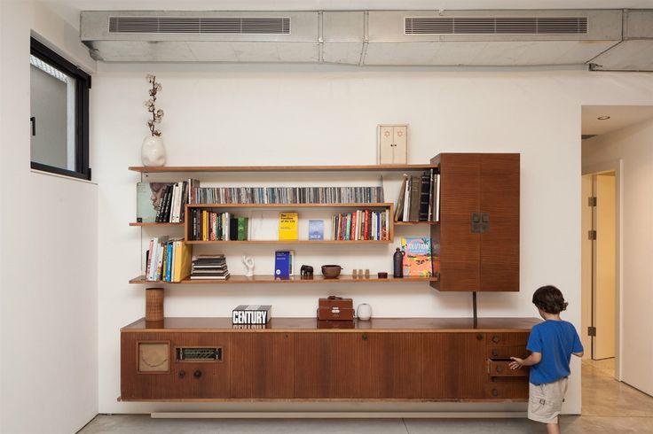 Část vybavení si Lebenthalovi přinesli z předchozího bytu, některé kousky dokonce používali už jejich rodiče.