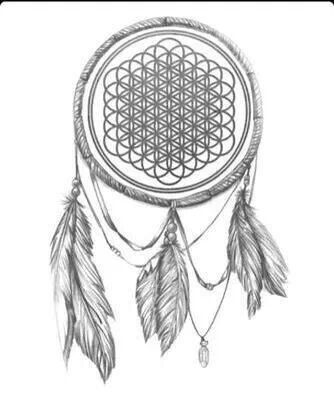 I already want a dream catcher tattoo & a sempiternal tattoo. So combinding the ideas? HELL YES!