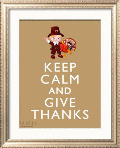 Thanksgiving Decor Handmade Printable DIY A4 Poster by petekdesign, $3.50