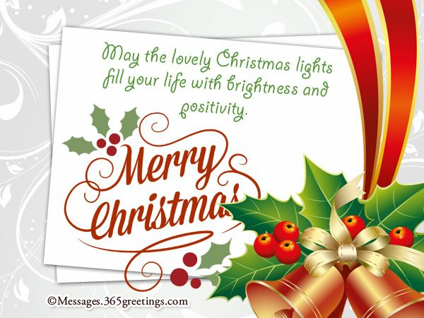 Short Christmas Messages Messages, Greetings and Wishes - Messages, Wordings and…