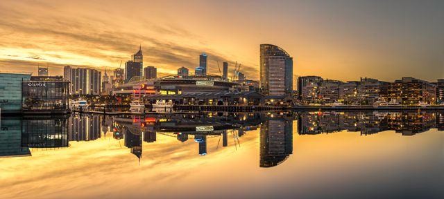Etihad Stadium Melbourne Docklands. Purchase this print in a beautifully prepared frame.  http://www.nikartphotography.com/