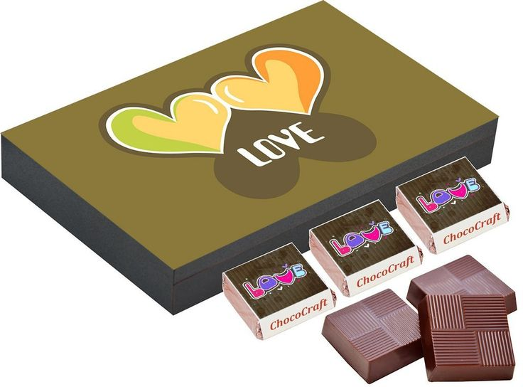 Best gift for boyfriend   Personalised chocolate