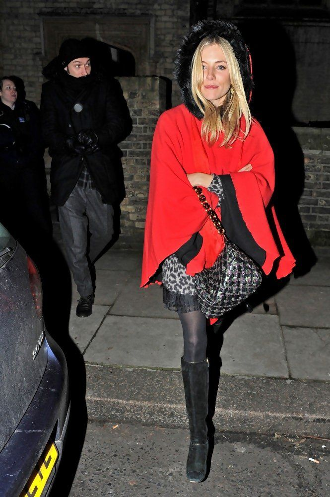 Sienna Miller - Sienna Miller and Jude Law at St. Paul's