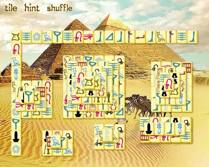 Discover Egypt online spielen | Mahjong Spiele