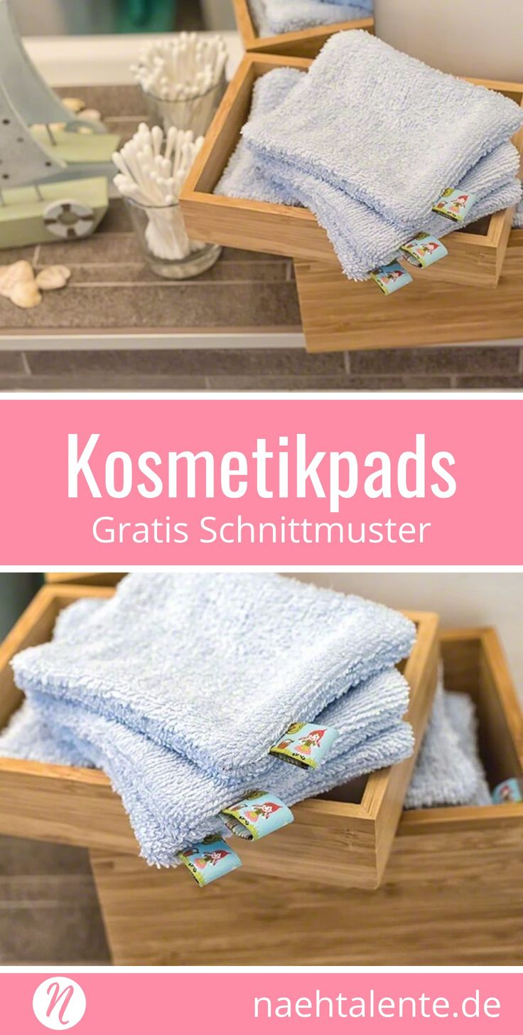 Geniales Recycling: Waschbare Kosmetikpads aus Stoff Nähe aus Baumwollstoffen, einem alten Bademantel oder Stoffwindeln diese genialen Kosmetikpads. Sie sind waschbar und belasten nicht die Umwelt. Gratis PDF-Schnittmuster & Nähanleitung in Deutsch. ✂️ Nähtalente - Magazin für kostenlose Schnittmuster ✂️ #nähen#freebook#schnittmuster#gratis#nähenmachtglücklich#freesewingpattern#handmade#diy