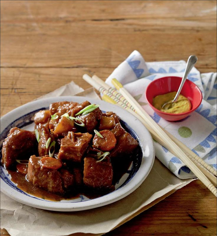 Slow-cooked pork belly from Izakaya | Cooked