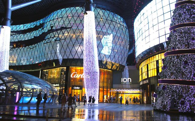 Orchard Road Singapore Mall Shopping Mall Singapore