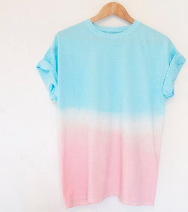 Follow the link to Etsy, and there are more ombre shirts like this! So cute, I want one