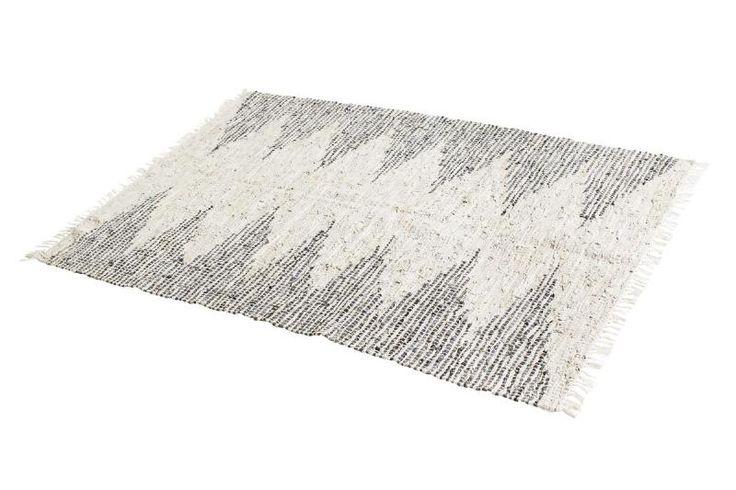 Carpet big - leer - Muubs
