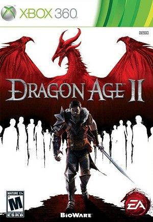 Dragon Age II [Warrior; Merrill romance], Xbox 360