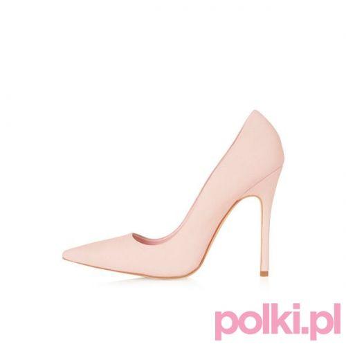 Pastelowe szpilki Topshop #polkipl