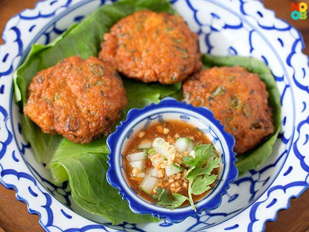 Thai fish cakes recipe noob cook recipes pinterest for Fish cake recipe