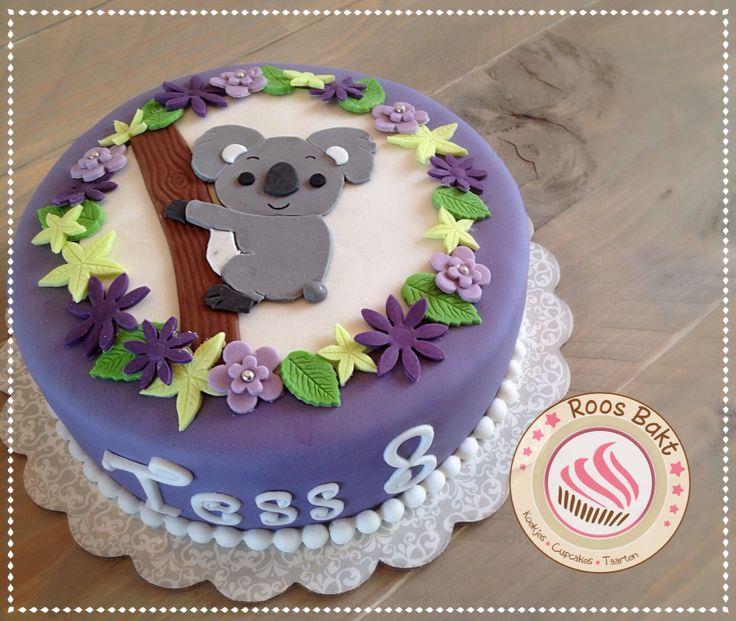 Koala bear cake Koala beer taart