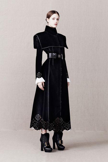 Gothic Couture: Alexander McQueen Pre-Fall 2013 via Style.com.