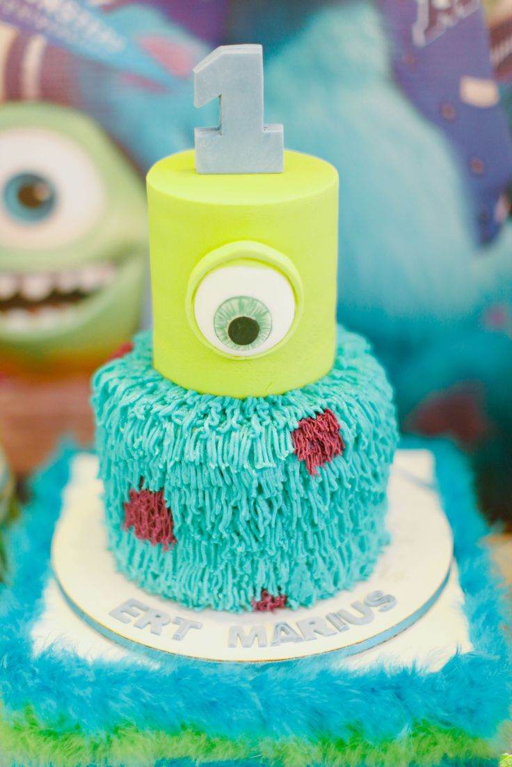 Marius' Monster Inc Themed Party – Cake