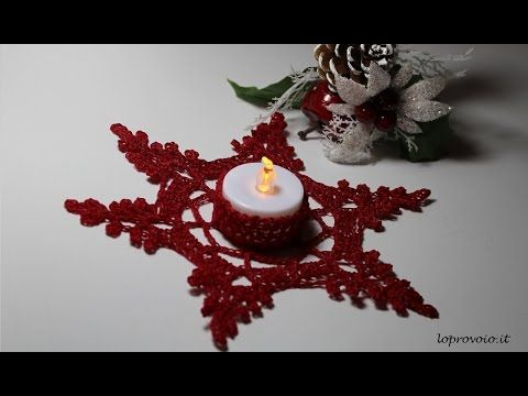 Tutorial candela Natalizia Amigurumi | How to crochet a christmas candle - YouTube