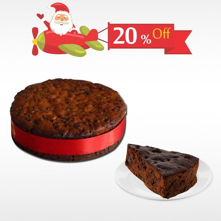 Order delicious Plum #Cake made with real English recipe this #Christmas and get 20% off only at #BringHomeFestival