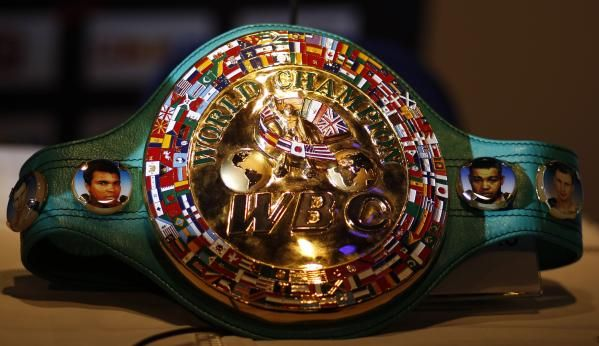 WBC (world boxing council) title belt (boxing) #mostvaluabletitle