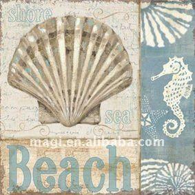 Source Retro Beach Print Metal Outdoor Sign on m.alibaba.com