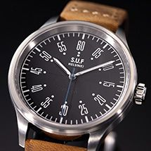 SUF Watch. These are low volume made by Sarpaneva (Finnish I think). Gronefeld, Peter Speake-Marin are also low volume makers.