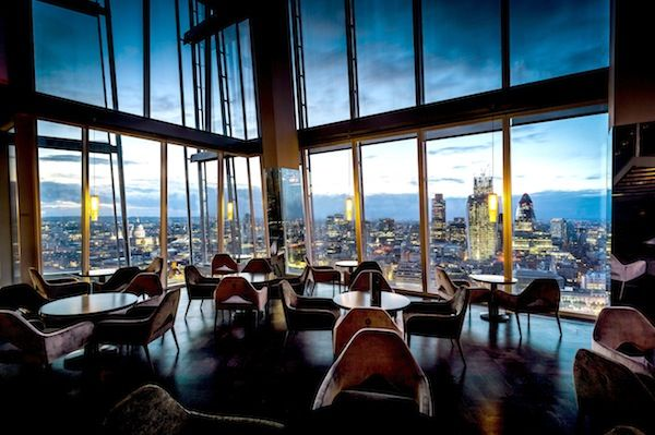 Aqua Shard Bar  http://www.bonvivant.co.uk/blog/2013/07/26/new-london-bars/