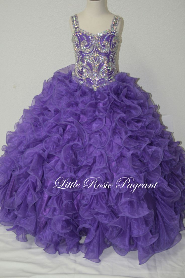 17 Best images about Pageant dresses on Pinterest | Little girl ...