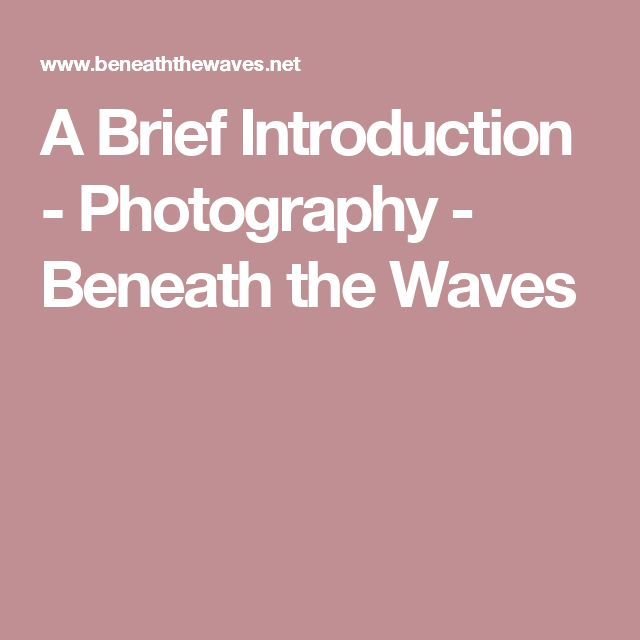 52 best pho 228 ultraviolet light photography images on pinterest a brief introduction photography beneath the waves malvernweather Choice Image