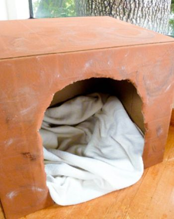 """Activities: Create a Hibernating Bear Den...this would be so cute for """"grumpy grizzly"""""""