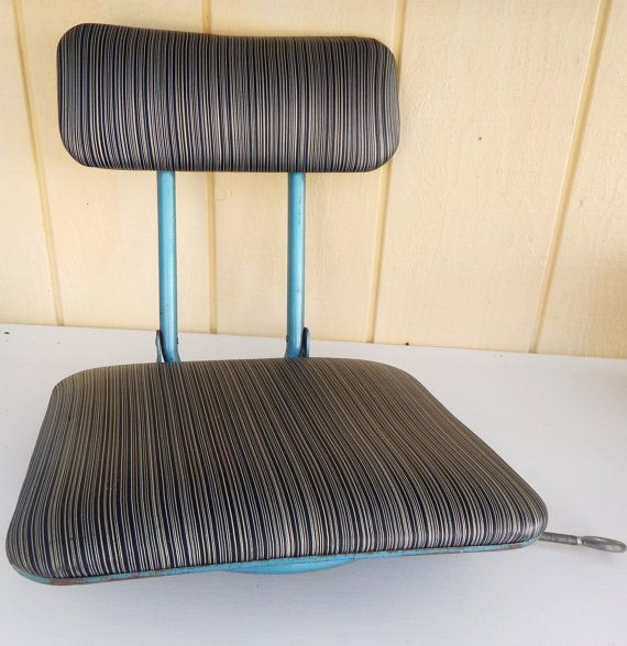 Vintage Fishing Chair Fishing Accessories by DockOfTheBayVintage