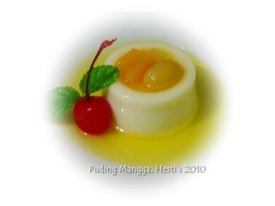 HESTI'S   KITCHEN : yummy for your tummy: Puding Mangga Koktail Buah