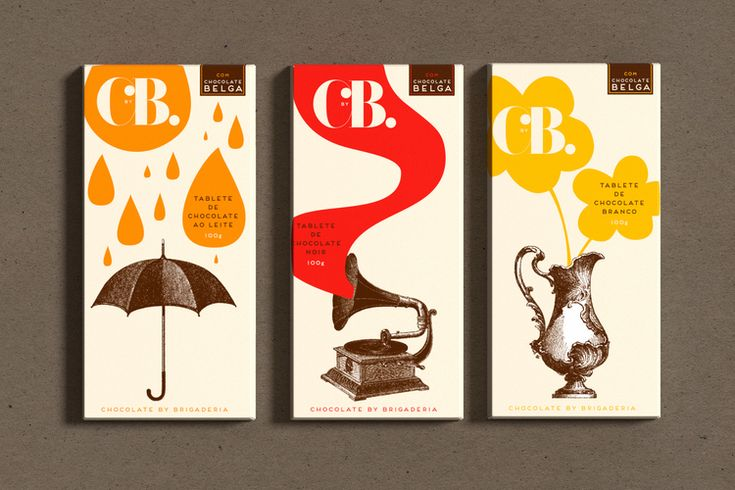 CbyB: Chocolates by Brigaderia — The Dieline - Package Design Resource