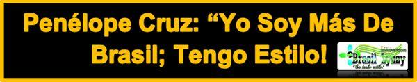 """POLÊMICA: Declaração apaixonada e de gratidão de Penélope Cruz à Empresa Brasileira """"Brasil Lyzzy Innovator"""" mencionando não ser contratada nem ter recebio cachê por mencionar o Lançamento Exclusivo da Marca: """"BLOND EFFICIENT"""" E """"LISO DE OURO"""" , um para cabelos loiros e outro para os demais, leva a discursão se é ético o ator, pessoa pública, fazer propaganda pelo que usa e gosta, sem ser contratada nem ter recebido para isso, como ela afirmou. E você, o que acha?"""