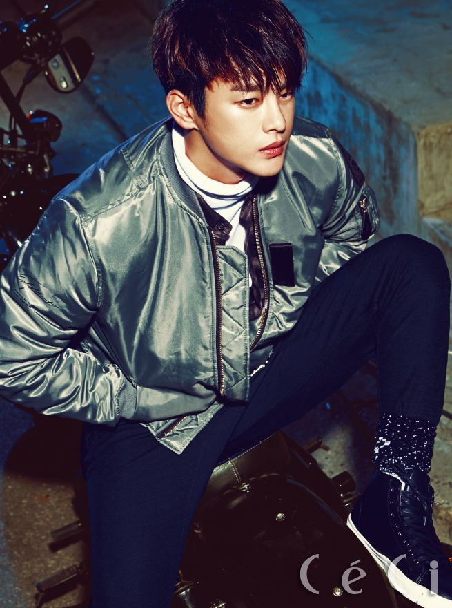 Seo In Guk - Céci Magazine October Issue '16