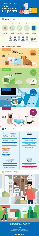 Consejos para viajar con perros