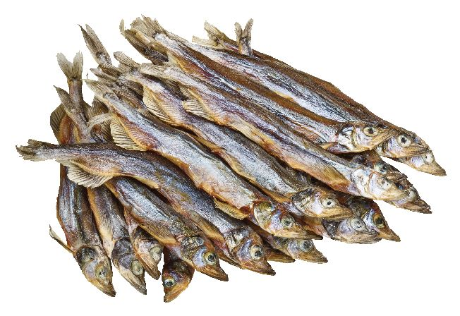 Dried Capelin from #YummyMarket