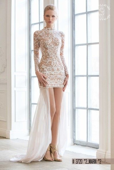 "Wedding dresses 2 are better than 1""Marin""dress from ""Love Juliette Collection"""
