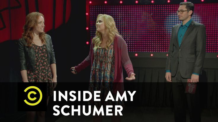 Hilarious sketch about breakups. Totally me right now. Inside Amy Schumer - Who's More Over Their Ex?