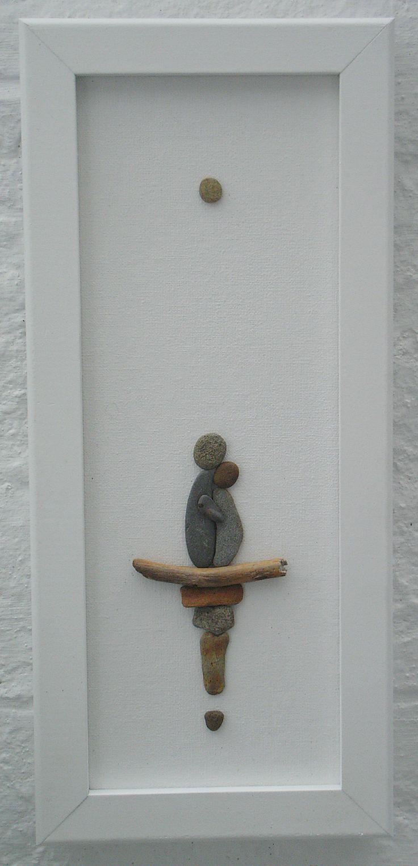 50 of the best creative diy ideas for pebble art crafts galets cailloux et bricolage - Steinbilder auf leinwand ...