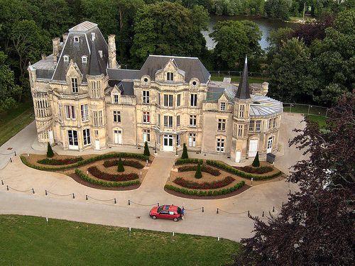 Le Château de Beauregard, Basse Normandie, France