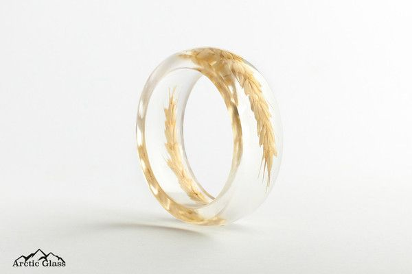 Wheat Round Bangle - Arctic Glass - www.arcticglass.com.au