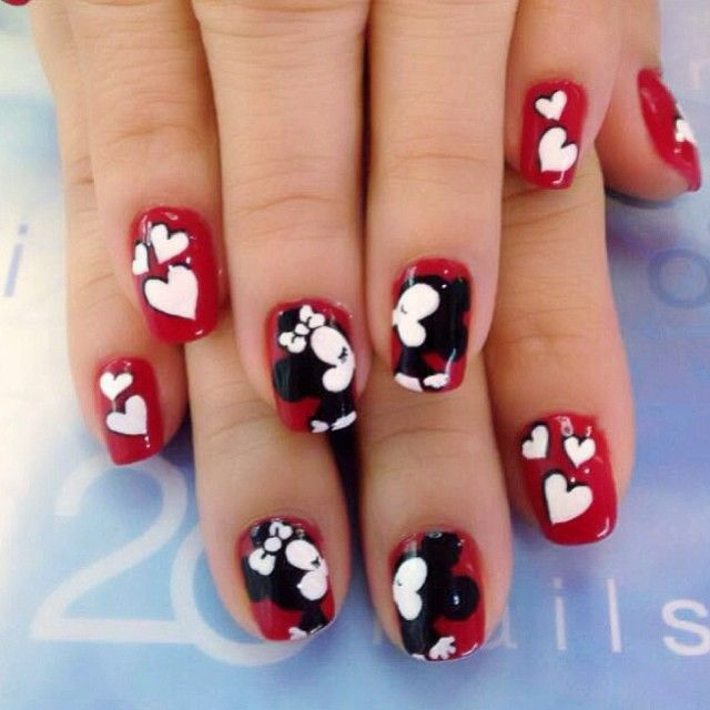 valentine by 20nailstudio  #nail #nails #nailart