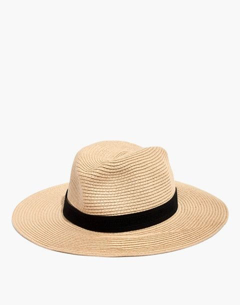 a7239d53fa5 Packable Mesa Straw Hat in natural straw image 1