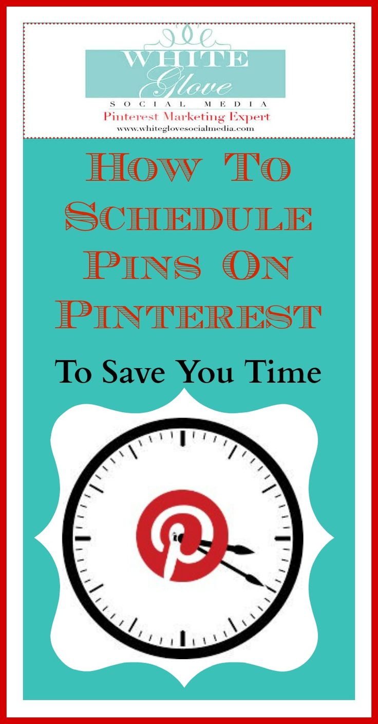 You can't be glued to your computer all day! Here's How To Schedule Pins On Pinterest To Save You Time! Pinterest Expert shares 6 Pinterest scheduling tools - check it out here http://www.whiteglovesocialmedia.com/how-to-schedule-pins-on-pinterest-to-save-you-time/✭Pinterest Consultant Vancouver✭ #PinterestMarketingExpert #PinterestCoach